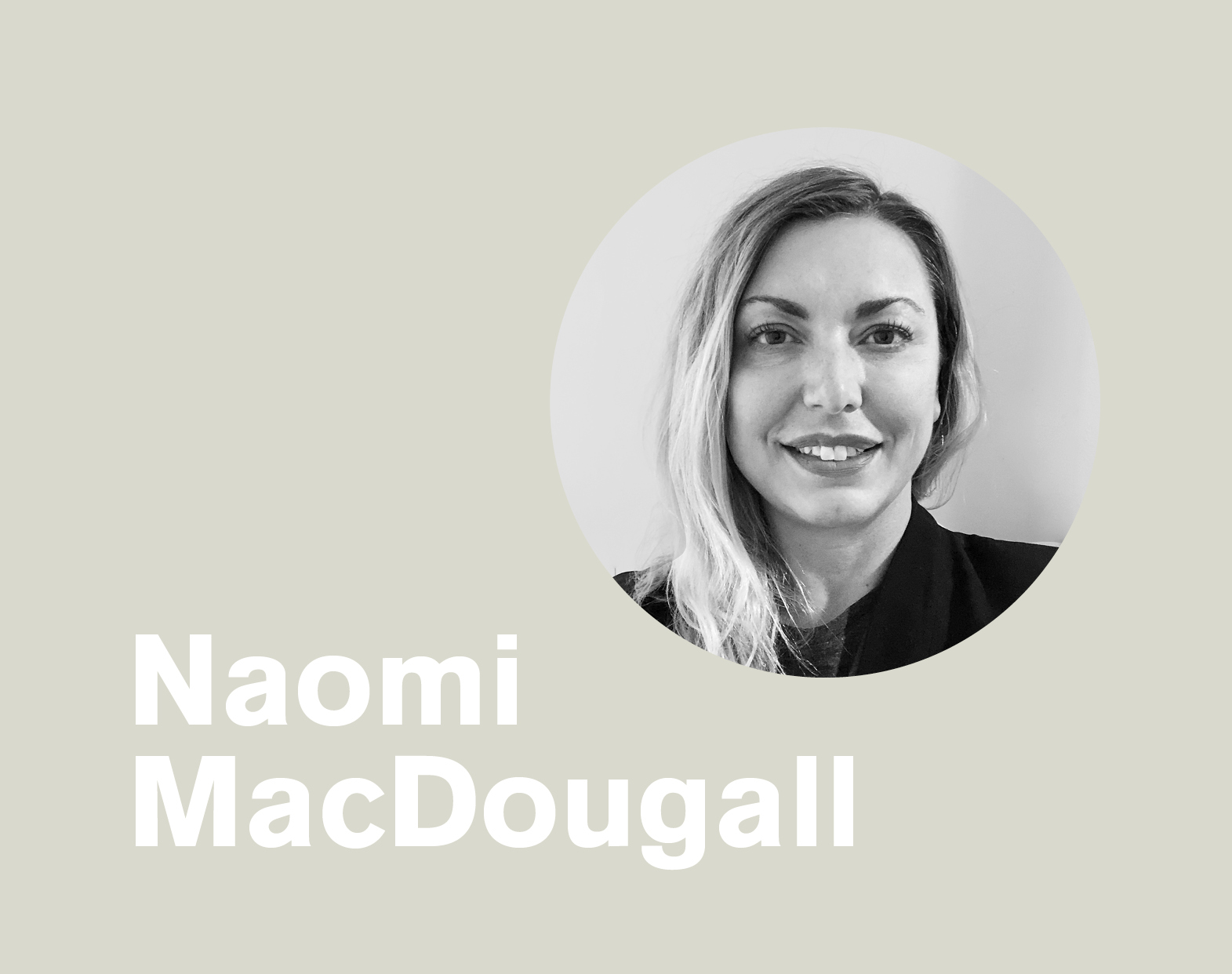 Naomi MacDougall